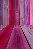 Pink Wooden Room — Stock Photo