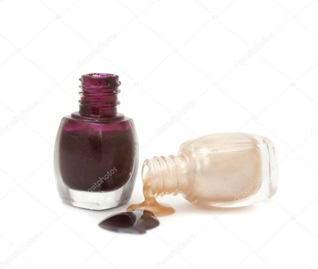 Spilled Nail Polish: Stock Photo © Digifuture #2824290