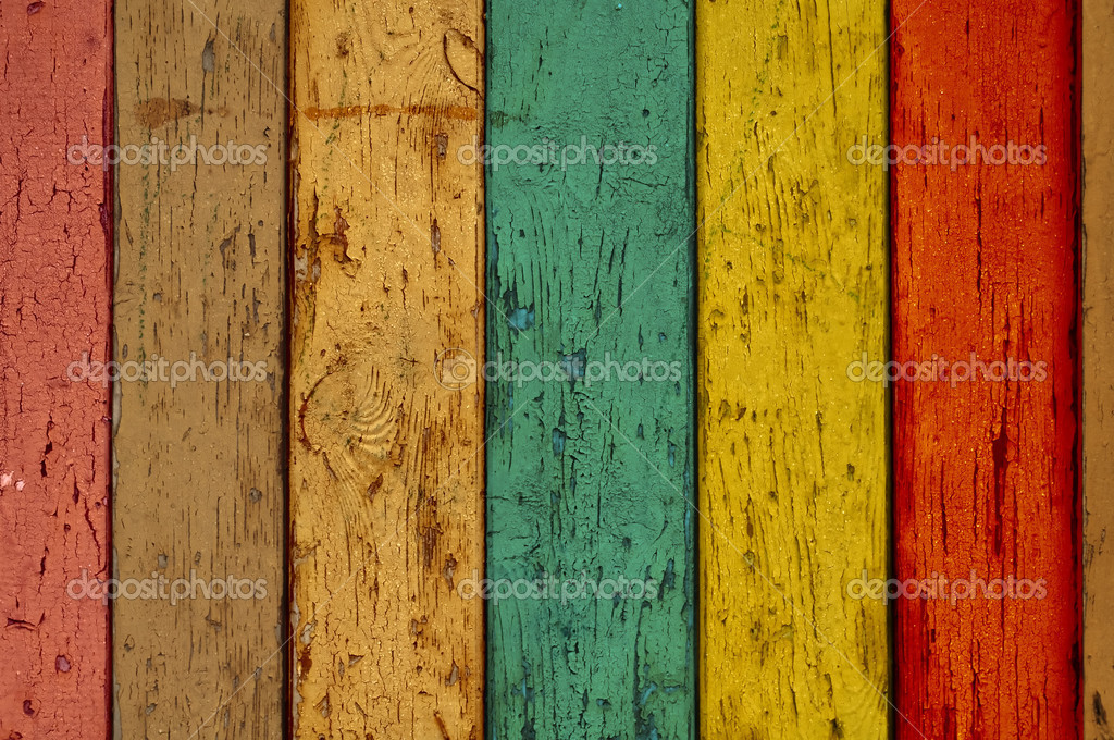 A multicolored wood background. Please visit my portfolio for more. — Photo #2846074