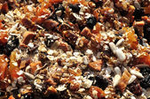 Homemade Muesli — Stock Photo