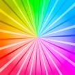Stock Photo: Multicolored Rays