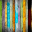 Multicolored Wood Background — Stock Photo