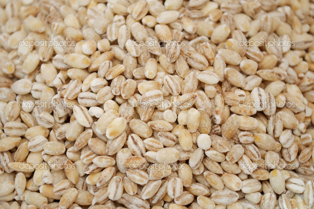 Raw pearl barley as a background — Foto Stock #3019454