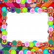 Beautiful Multicolored Frame — Stock Photo
