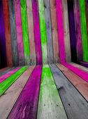Creative Wooden Room — Stock Photo