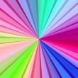 Multicolored Rays - Stock Photo