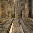 Stock Photo: Wooden Room