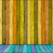 Extra-Wide Wood Background — Stock Photo