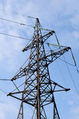 Electricity Pylon And Power Lines — Stock Photo