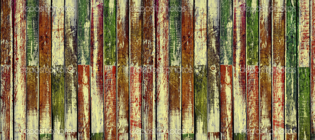 Shabby wooden planks as a background (extra-wide) — Stock Photo #3708494