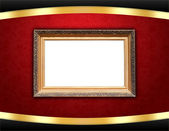 Vintage Frame on Stylish Background — 图库照片