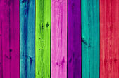 Multicoloured Wooden Planks — Stock Photo