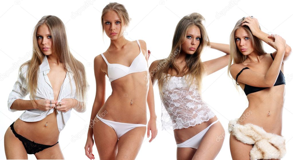 Sexual girls  — Stock Photo #3126474