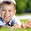 happy litte boy — Stock Photo #3347906