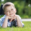 happy litte boy — Stock Photo #3347941