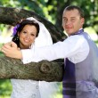 Bride and groom — Stockfoto #3611906