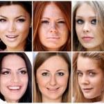Portrait of beautiful young women — Stock Photo #3793659
