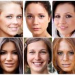 Beautiful young women — Stock Photo