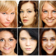 Portrait of beautiful young women — Stock Photo #3793731