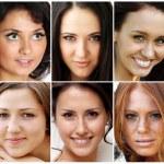 Portrait of beautiful young women — Stock Photo #3793767