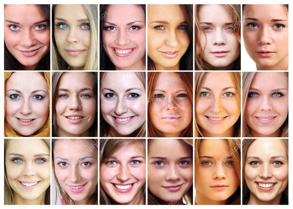 Portrait of beautiful young women — Stock Photo #3793639