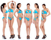 Krásné ženy ve spodním prádle — Stock fotografie