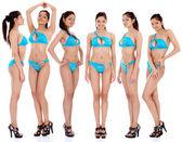 Mooie vrouwen in ondergoed — Stockfoto