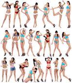 Beautiful women in underwear — Stock Photo