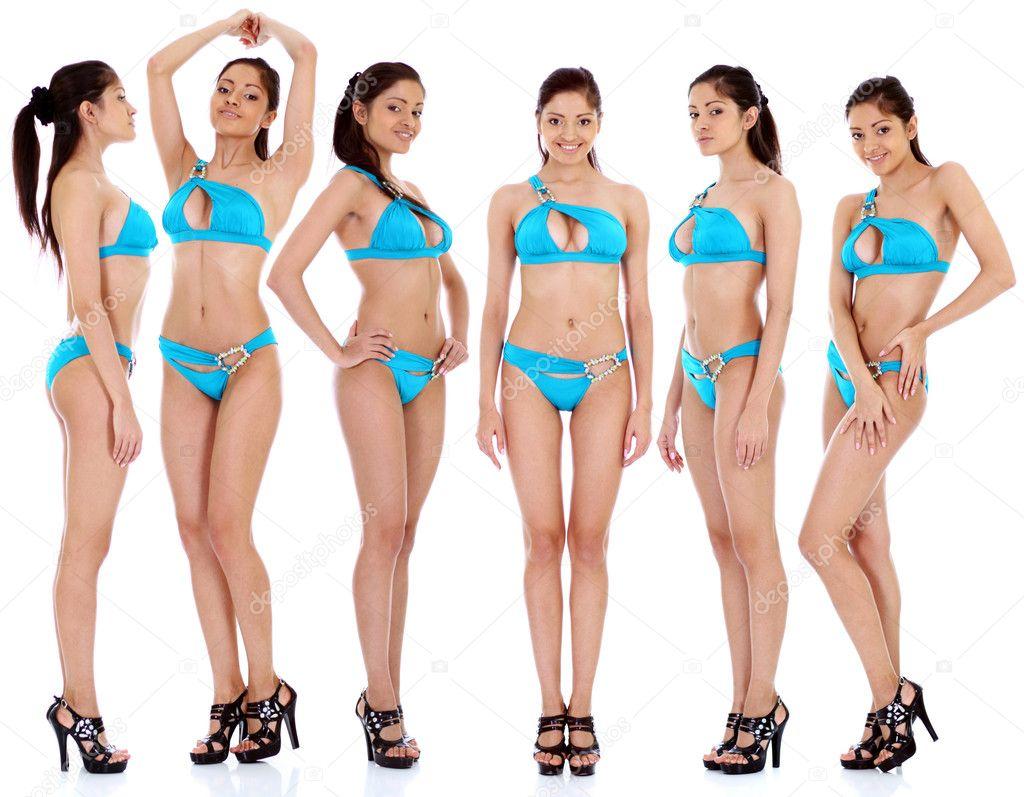 Beautiful women in underwear - Stock ImageWomen In Underpants Only