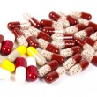 Varicoloured capsules. - Stock Photo