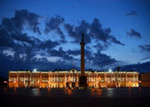 Palace Square at white night — ストック写真