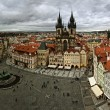 View of old Prague — Stockfoto