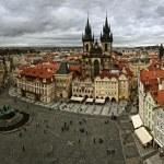 Zobacz starej Pragi — Zdjęcie stockowe