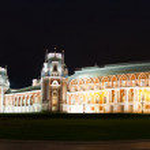 Night Tsaritsino Palace — Stock Photo #3183953