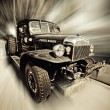 Power wagon — Stock Photo