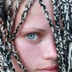 Blue-eyed girl — Stock Photo #3637166