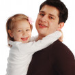 Happy father with a daughter — Stock Photo #4284473