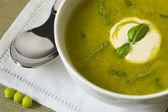 Pea soup — Stock Photo