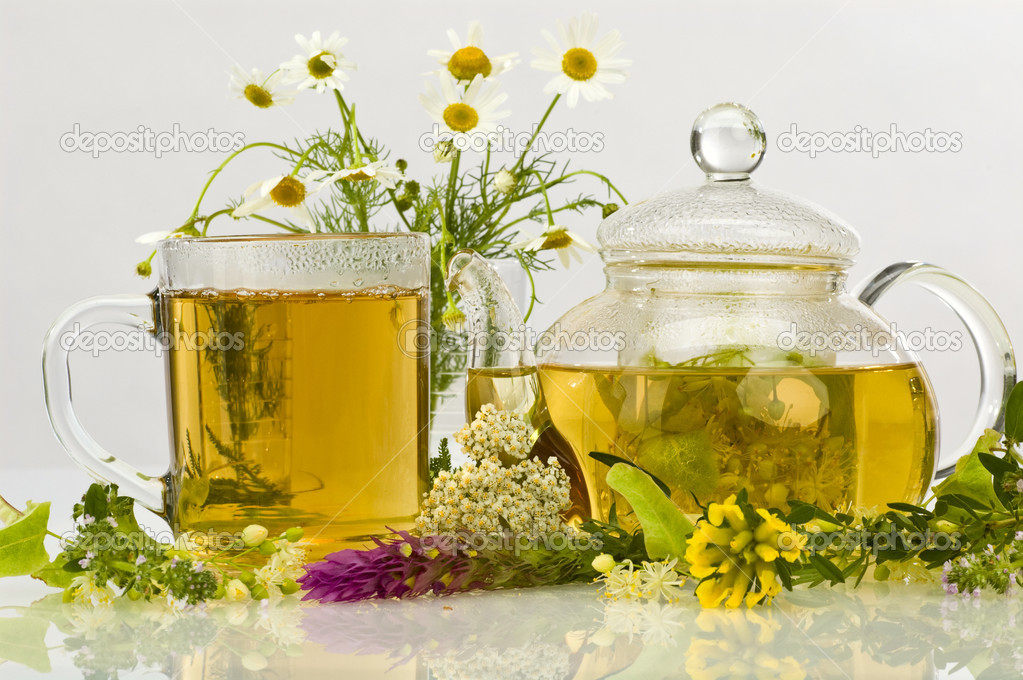 Herbal tea — Stock Photo #4285743