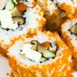 Sushi tobiko — Stock Photo