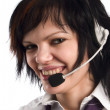Royalty-Free Stock Photo: Call-center representative