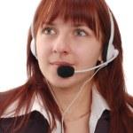 Call-center representative — Stock Photo #4303366