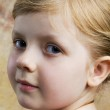 Portrait of small girl — Stock Photo