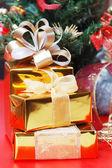 Presente de ano novo — Foto Stock