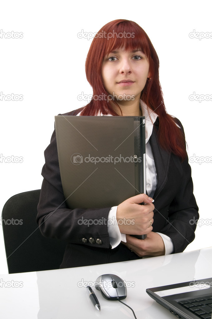 Business woman, portrait — Stock Photo #4303227