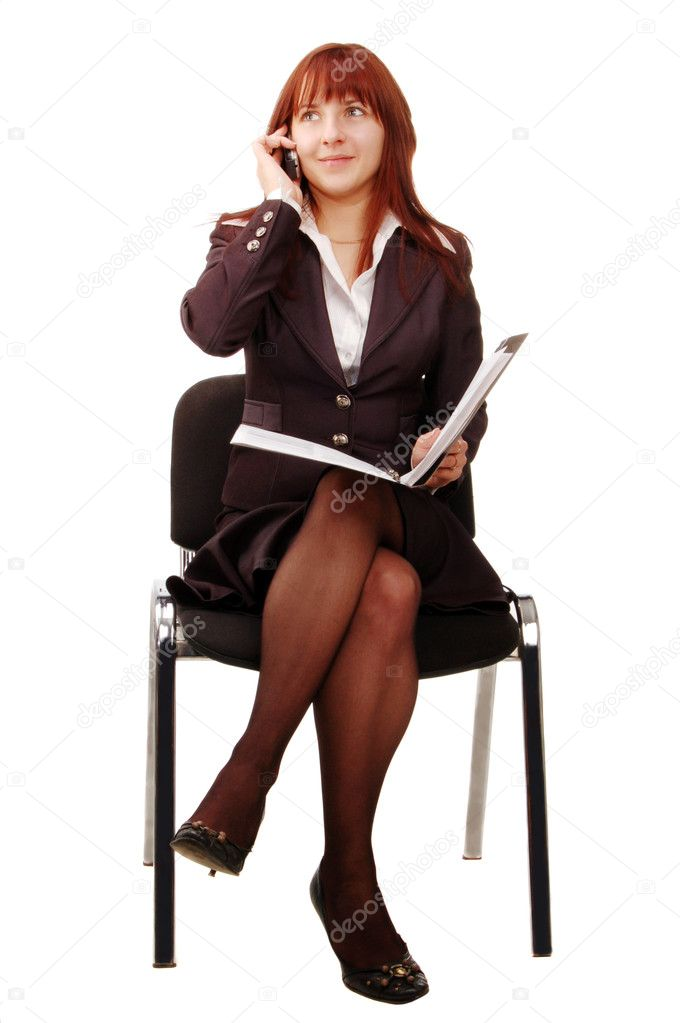 Business woman, portrait  Stock Photo #4303365