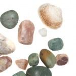 Sea pebble isolated — Stock Photo #4318157