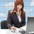 Business woman, portrait — Stock Photo
