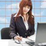 Business woman, portrait — Stock Photo #4318810