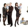 Business family — Stock Photo #4318811